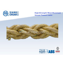 High-Strength Wear-Resistant Vessel Towed Rope